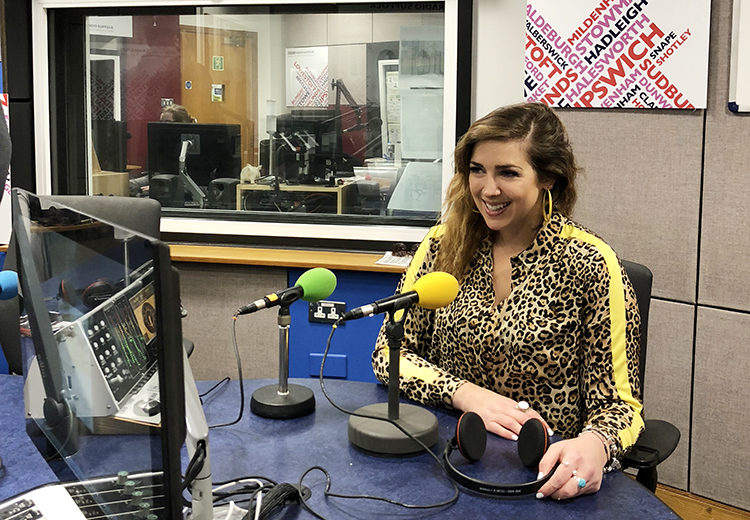 Gemma Scopes at BBC Radio Suffolk