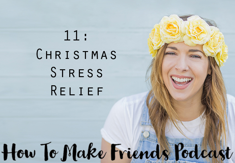 Christmas stress relief